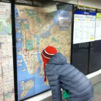 New York's subway map:  mythic presence of the city in everyday life